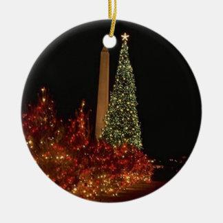 Christmas in Washington DC Christmas Ornament