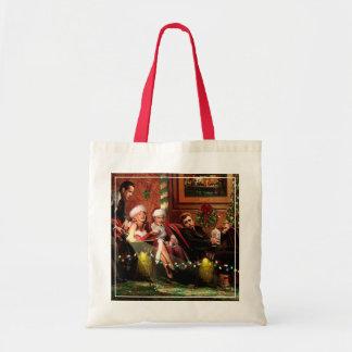 Christmas Interlude Budget Tote Bag