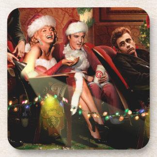 Christmas Interlude Drink Coaster