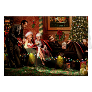 Christmas Interlude Greeting Card