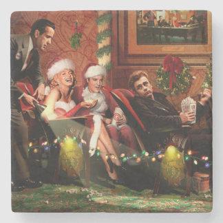 Christmas Interlude Stone Coaster