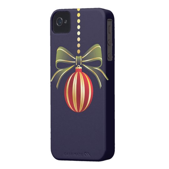 Christmas iPhone 4/4S Case-Mate Barely There