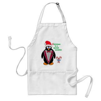 Christmas is a special occasion - Chritmas penguin Standard Apron