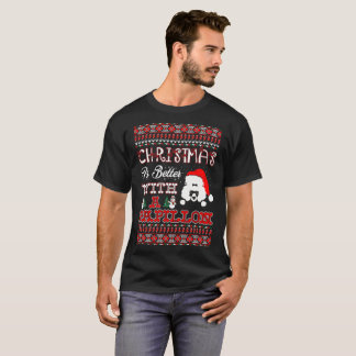 Christmas Is Better With A Papillon Ugly Sweater