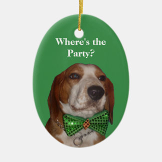 Christmas is for Beagles Too Christmas Ornament