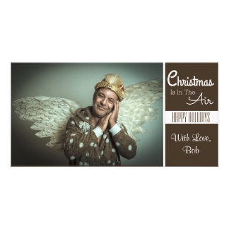 Christmas Is In The Air (Be An Angel) Card