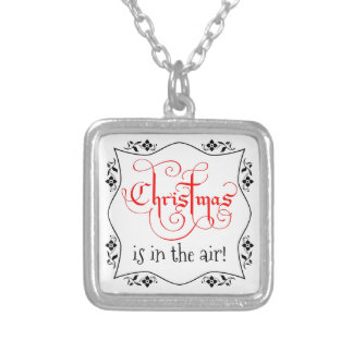 Christmas Is In The Air pendant necklace