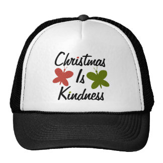 Christmas Is Kindness Cap