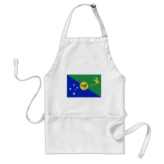 Christmas Island (Australia) Flag Apron