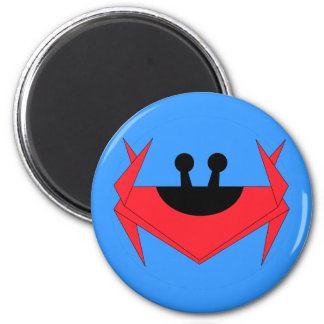 Christmas Island crab (blue) Magnet