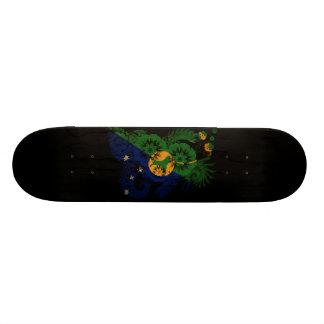Christmas Island Flag Skate Board