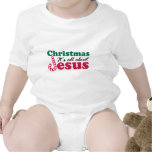 Christmas - It's all about Jesus Bodysuits
