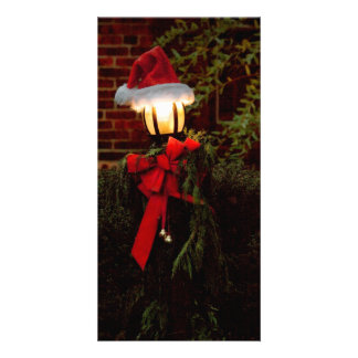 Christmas - It's going to be a cold night Photo Card