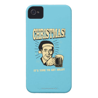 Christmas: It's Time To Get Jolly iPhone 4 Case