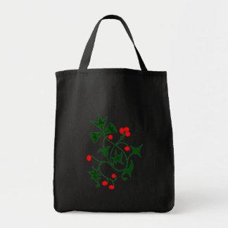 Christmas Ivy Tote Bag