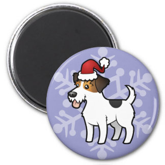 Christmas Jack Russell Terrier Magnet