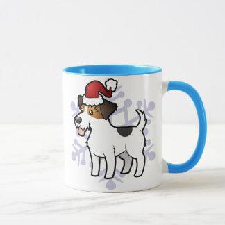 Christmas Jack Russell Terrier Mug