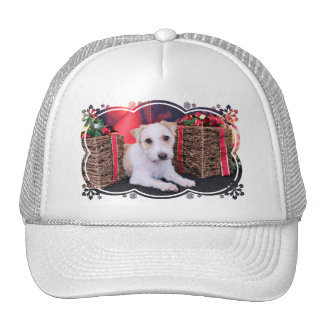 Christmas - Jack Russell - Wiley Trucker Hats
