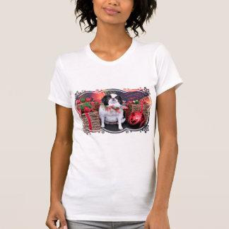 Christmas - Japanese Chin - Oreo T-shirt