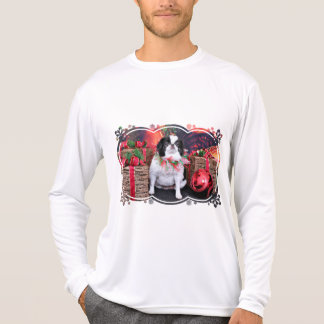 Christmas - Japanese Chin - Oreo Shirt