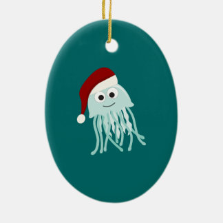 Christmas Jellyfish Christmas Ornament