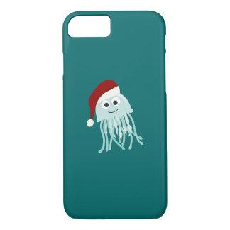 Christmas Jellyfish iPhone 7 Case