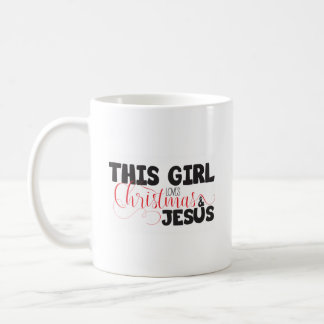 Christmas & Jesus Coffee Mug