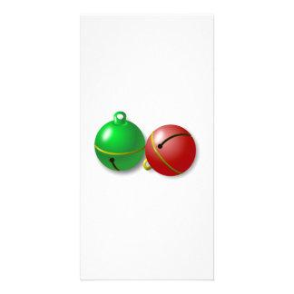 Christmas Jingle Bells Photo Card Template
