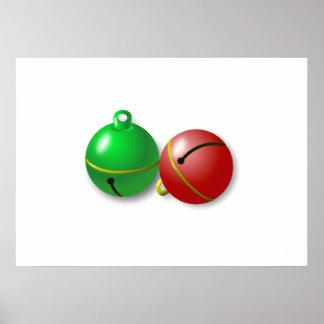 Christmas Jingle Bells Posters