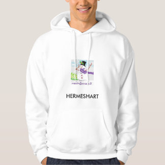 Christmas Joke 09, HERMESHART Hooded Sweatshirt