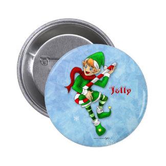 Christmas Jolly Button