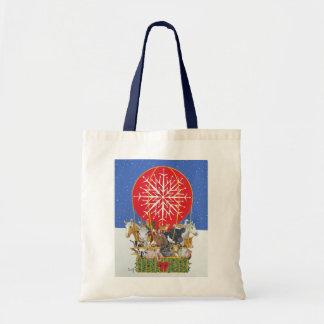 Christmas Journey Budget Tote Bag