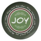 Christmas Joy Bible Verse Plate