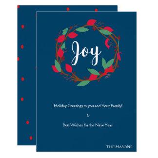 Christmas Joy Card. Card
