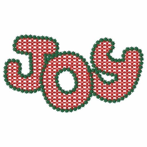 Christmas Joy Embroidered Shirt
