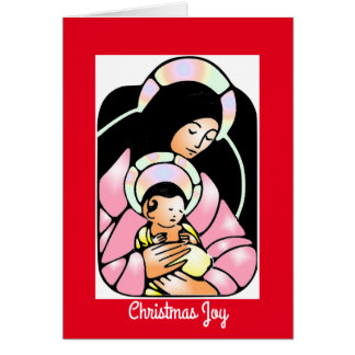 Christmas Joy Mosaic Card
