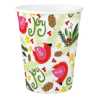 Christmas Joy Paper Cups