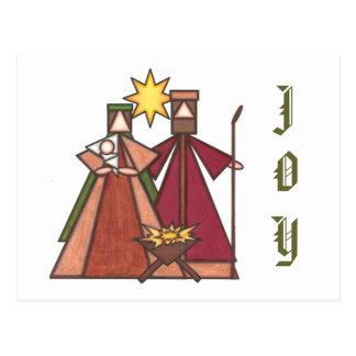 Christmas Joy Postcard