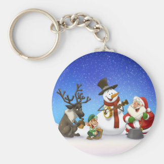 Christmas Jug Band Keychain