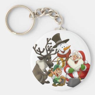 Christmas Jug Band Keychain
