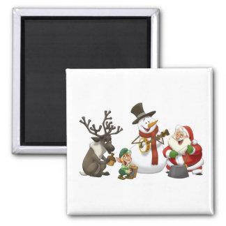 Christmas Jug Band Magnet