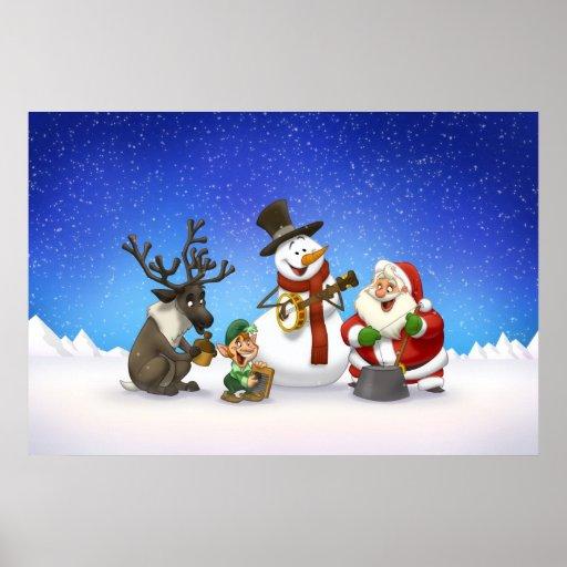 Christmas Jug Band Poster