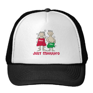 Christmas Just Married Cap