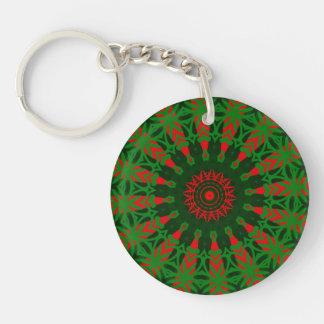 Christmas Kaleidoscope Key Chain
