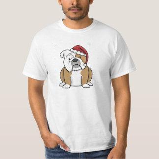 Christmas Kawaii English Bulldog Tshirts