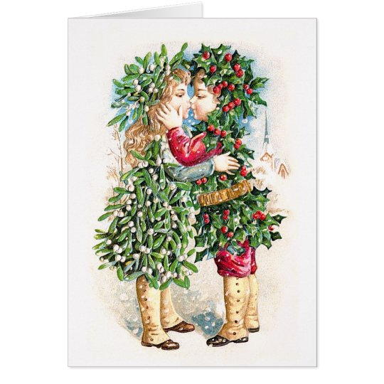 Christmas Kiss Card