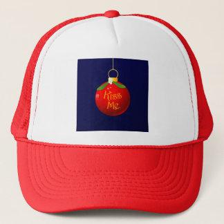 Christmas Kiss Me Cap
