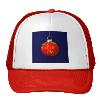 Christmas Kiss Me Cap