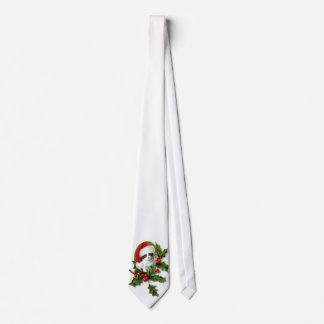 Christmas Kitten Tie