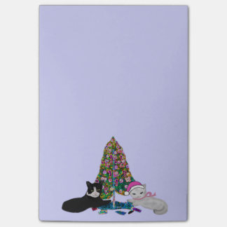 Christmas Kittens Post-it® Notes